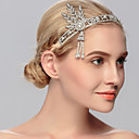 cheap Party Headpieces-Rhinestone Tiaras / Headwear with Floral 1pc Wedding / Special Occasion / Casual Headpiece