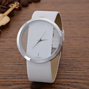 cheap Rings-Women's Wrist Watch Casual Watch Leather Band Casual / Fashion / Elegant Black / White / Blue / One Year / SSUO LR626