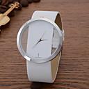 abordables Pelucas Sintéticas-Mujer Reloj de Pulsera Reloj Casual Piel Banda Casual / Moda / Elegante Negro / Blanco / Azul / Un año / SSUO LR626