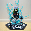 cheap Nail Stamping-Anime Action Figures Inspired by Naruto Hatake Kakashi PVC(PolyVinyl Chloride) CM Model Toys Doll Toy