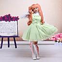 رخيصةأون Lolita فساتين-أميرة الحلوه لوليتا دانتيل نسائي فساتين تأثيري بدون كم قصيرة ازياء