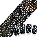 preiswerte Aufkleber für Nägel-1pcs Punk / Modisch Glitter & Poudre / Folien-Abziehband Alltag