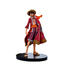 cheap Anime Cosplay Swords-Action Figure Monkey D. Luffy PVC(PolyVinyl Chloride) 1 pcs Cartoon Men's Toy Gift