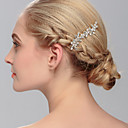 cheap Party Headpieces-Crystal Hair Combs with 1 Wedding / Special Occasion / Casual Headpiece