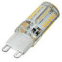 billige LED-bi-pinlamper-G9 LED-lamper med G-sokkel Nedfaldende retropasform 58 leds SMD 3014 Dæmpbar Dekorativ Varm hvid Kold hvid 400-500lm 3500/6500K