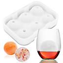 preiswerte Weinzubehör-Backwerkzeuge Silikon Kreative Küche Gadget / Heimwerken Eis / Für Eiscreme / Party Kreisförmig Kuchenformen 1pc