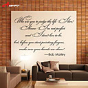 cheap Wall Stickers-Words & Quotes Wall Stickers Words & Quotes Wall Stickers Decorative Wall Stickers, Vinyl Home Decoration Wall Decal Wall