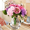 cheap Artificial Flower-Artificial Flowers 10 Branch European Style Roses / Daisies Tabletop Flower