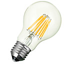 halpa LED-lamput-e26 / e27 led-filamentti sipulit upotettu retrofit 8 cob 600-700lm lämmin valkoinen kylmä valkoinen 3000-6500k koriste ac 85-265v