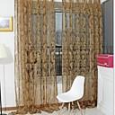 preiswerte Gardinen-Gardinen Shades Wohnzimmer Polyester Beflockung