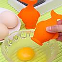 זול כלים לביצים-דג, צלחת, חלמון, לבן, מפריד, למצוץ, מחלק, ביצה, כלים