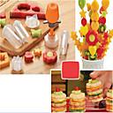 preiswerte Frucht Und Gemüse Geräte-Küchengeräte Kunststoff DIY Mold Für Obst 1set