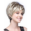 cheap Costume Wigs-Synthetic Wig Straight Synthetic Hair White Wig Women's Capless White