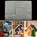 cheap Bakeware-Mold For Chocolate For Cookie Plastic Christmas 3D