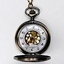 ieftine Ceas de buzunar-Bărbați Quartz Ceas de buzunar Gravură scobită Aliaj Bandă Charm Yellow