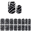 abordables Adhesivos Completos para Uñas-1 pcs Adhesivos arte de uñas Manicura pedicura 3D Moda Diario
