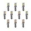 voordelige LED-lampen-10 stuks 220-240lm E14 / G9 / G4 LED-maïslampen T 64 LED-kralen SMD 3014 Warm wit / Koel wit 220-240V