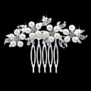 cheap Wedding Shoes-Pearl / Crystal / Rhinestone Hair Combs with 1 Wedding / Special Occasion / Casual Headpiece
