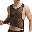 ieftine Maieu & Tricouri Bărbați-Bărbați Mată - Super Sexy Sub Cămașă Dantelă