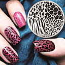 cheap Nail Stamping-1 pcs Stamping Plate Template Nail Art Design Fashionable Design Stylish / Fashion Daily / Metal