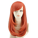cheap Blankets & Throws-Synthetic Wig Straight / Wavy Asymmetrical Haircut Synthetic Hair Natural Hairline Red Wig Women's Medium Length / Mid Length Capless