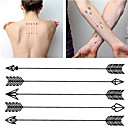 cheap Tattoo Stickers-HC1071 Harajuku Waterproof Fake Tattoo Man Women Arm Tattoos Arrow Pattern Design False Temporary Tattoo Sticker