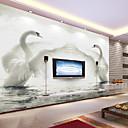 baratos Papel de Parede-Pintura Decoração para casa Moderna Revestimento de paredes Material adesivo necessário Mural, Cobertura para Paredes de Quartos