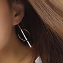 olcso Divat fülbevalók-Női Rojt Beszúrós fülbevalók Francia kapcsos fülbevalók - Európai, minimalista stílusú Arany Kompatibilitás Parti Napi Hétköznapi