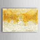 billige Oljemalerier-Håndmalte Abstrakt Vannrett, Moderne Lerret Hang malte oljemaleri Hjem Dekor Et Panel