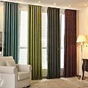 preiswerte Verdunkelungsvorhänge-Verdunklungsvorhänge Vorhänge Wohnzimmer Streifen Polyester Jacquard