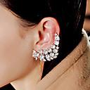 رخيصةأون حلقات الأذن-للمرأة كريستال أقراط الزر أقراط قطرة - كلاسيكي ذهبي من أجل حزب