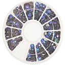 お買い得  ネイルラインストーン&デコレーション-1 pcs ネイルジュエリー / キラキラとポードル 抽象画 / カトゥーン / 結婚式 かわいい 日常 ネイルアートデザイン / アクリル