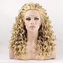 preiswerte Synthetische Perücken-Synthetische Lace Front Perücken Locken Synthetische Haare Perücke Damen Spitzenfront