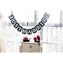 olcso Torta díszek-Egyedi esküvői dekor Kartonpapír Esküvői dekoráció Esküvő / Évforduló / Eljegyzés Tengerparti téma / Kerti témák / Virágos téma Tavasz / Nyár / Ősz