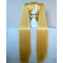 hesapli Kostüm Peruğu-Sentetik Peruklar / Kostüm Perukları Düz Sentetik Saç Peruk Kadın's