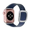 preiswerte Bildschirme-Uhrenarmband für Apple Watch Series 4/3/2/1 Apple Moderne Schnalle Echtes Leder Handschlaufe