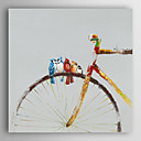 billige Hodeplagg til fest-Hang malte oljemaleri Håndmalte - Dyr Moderne Lerret