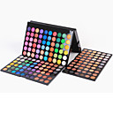 preiswerte Modische Halsketten-180 Farben Lidschatten / Puder Auge Party Make-up / Smokey Makeup Bilden Kosmetikum / Matt / Schimmer