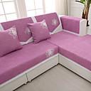 abordables Fundas Removibles-de alto grado de chenilla sofá toalla sólida cuatro estaciones antideslizantes sofá cojín de tela