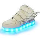 baratos Sapatos de Salto-Para Meninos Sapatos Sintético Primavera Tênis com LED Tênis Gliter com Brilho / Colchete / LED para Verde / Rosa claro / Azul Real