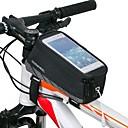 preiswerte Radtrikots-ROSWHEEL Handy-Tasche / Fahrradrahmentasche 5.5 Zoll Touchscreen, Wasserdicht Radsport für iPhone 8 Plus / 7 Plus / 6S Plus / 6 Plus / iPhone X Schwarz / Wasserdichter Verschluß