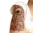 お買い得  袖のタトゥー-Non Toxic / パターン / Halloween 一時的な入れ墨 花シリーズ Halloween / 大きいサイズ ボディアート アーム