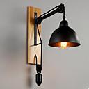 billige Hengelamper-Rustikk / Hytte Vegglamper Tre / Bambus Vegglampe 110V / 110-120V / 220-240V