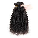 זול תוספות שיער בגוון טבעי-שיער הודי אפרו / Kinky Curly שיער בתולי טווה שיער אדם 3 חבילות 8-26 אִינְטשׁ שוזרת שיער אנושי מכירה חמה שחור תוספות שיער אדם / קינקי קרלי