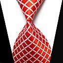 abordables Tie Bar-Hombre Cruzado / Moda Blanco / Rojo Tejido Pasador