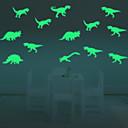 voordelige LED-lampen-Landschap Dieren Mensen Stilleven Romantiek Mode Vormen Fantasie Vrije tijd Cartoon Feest Vintage Muurstickers Lichtgevende Muurstickers