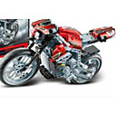 abordables Motocicletas de juguete-Coches de juguete / Bloques de Construcción / Motos de juguete 1pcs Coche / Moto / Camioneta Ecológica Moto / Vehículo de construcción