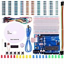 cheap 3D Printer Parts & Accessories-UNO Project Basic Starter Kit with Tutorial and UNO R3 for Arduino