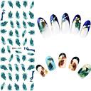 abordables Adhesivos 3D para Manicura-Etiqueta engomada del clavo del arte del clavo Joyas de Uñas