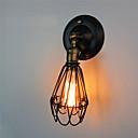 povoljno Zidni svijećnjaci-AC 110-120 AC 220-240 E26/E27 Rustic/Lodge Painting svojstvo for Mini Style,Ambijentalno svjetlo zidna svjetiljka
